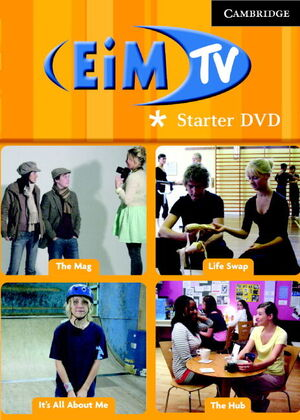 ENGLISH IN MIND STARTER LEVEL DVD (PAL/NTSC) AND ACTIVITY BOOKLET