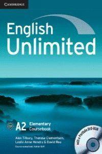 (ST).ENG.UNLIMITED ELEMENTARY COURSEBOOK+PORTAFOLI