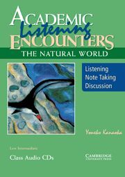 ACADEMIC LISTENING ENCOUNTERS THE NATURAL WORLD CLASS AUDIO CDS (3)