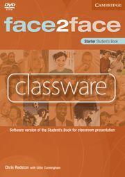 CLASSWARE CD-ROM FACE2FACE STARTER