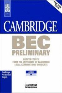 CAMBRIDGE BEC 1 PRELIMINARY AUDIO CD