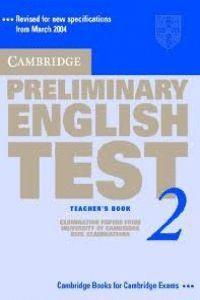 PET  PRACTICE TESTS 2    TEACHER'S BOOK