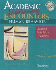 ACADEMIC ENCOUNTERS: HUMAN BEHAVIOR 2 BOOK SET (STUDENT'S READING BOOK AND STUDE