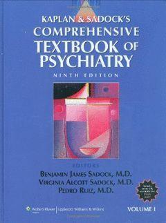 KAPLAN AND SADOCK'S COMPREHENSIVE TEXTBOOK OF PSYC