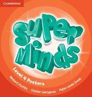 SUPER MINDS LEVEL 4 POSTERS (10)