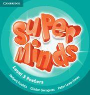 SUPER MINDS LEVEL 3 POSTERS (10)