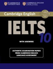 CAMBRIDGE IELTS 10 STUDENT'S BOOK WITH ANSWERS: EXAMINATION PAPERS