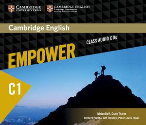 CAMBRIDGE ENGLISH EMPOWER ADVANCED CLASS AUDIO CDS (4)