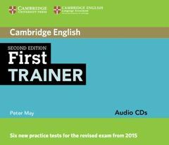 2ND. ED. FIRST TRAINER FOR 2015 EXAMS AUDIO CD´S (3)