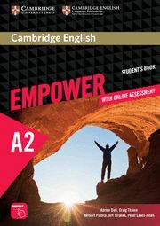 CAMBRIDGE ENGLISH EMPOWER ELEMENTARY A2 . ST. WITH ONLINE ASSESMENT &