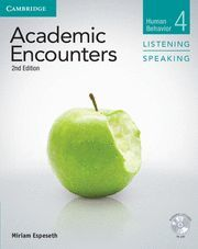 ACADEMIC ENCOUNTERS LEVEL 4 STUDENT'S BOOK LISTENING AND SPEAKING WITH DVD 2ND E