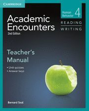 ACADEMIC ENCOUNTERS LEVEL 4 TEACHER'S MANUAL READING AND WRITING 2ND EDITION