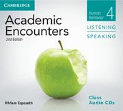 ACADEMIC ENCOUNTERS LEVEL 4 CLASS AUDIO CDS (3) LISTENING AND SPEAKING 2ND EDITI