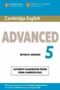 (5.ST-KEY).CAMBRIDGE ENGLISH ADVANCED (CAE CERTIFI