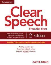 CLEAR SPEECH FROM THE START TEACHER'S RESOURCE AND ASSESSMENT BOOK 2ND EDITION