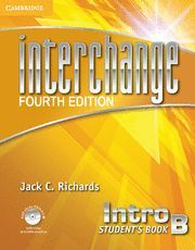 INTERCHANGE INTRO STUDENT'S BOOK B WITH SELF-STUDY DVD-ROM 4TH EDITION