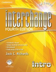 INTERCHANGE INTRO FULL CONTACT WITH SELF-STUDY DVD-ROM 4TH EDITION