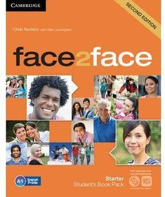 FACE2FACE STARTER STUDENT'S BOOK WITH DVD-ROM AND ONLINE WORKBOOK PACK 2ND EDITI