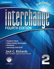 INTERCHANGE LEVEL 2 FULL CONTACT WITH SELF-STUDY DVD-ROM 4TH EDITION