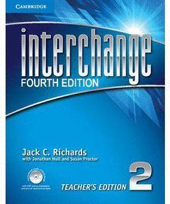 INTERCHANGE LEVEL 2 TEACHER'S EDITION WITH ASSESSMENT AUDIO CD/CD-ROM 4TH EDITIO