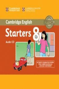 CAMBRIDGE ENGLISH YOUNG LEARNERS ENGLISH TESTS STARTERS 8 AUDIO CD