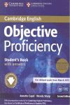OBJECTIVE PROFICIENCY STUDENT BOOK PACK + CLASS AUDIO CD 2