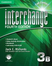 INTERCHANGE LEVEL 3 FULL CONTACT B WITH SELF-STUDY DVD-ROM 4TH EDITION