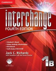 INTERCHANGE LEVEL 1 FULL CONTACT B WITH SELF-STUDY DVD-ROM 4TH EDITION