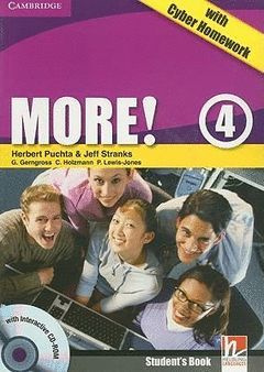 MORE! 4 (2ND ED.) STUDENT'S BOOK WITH CYBER HOMEWORD AND RESOURCES ONLINE