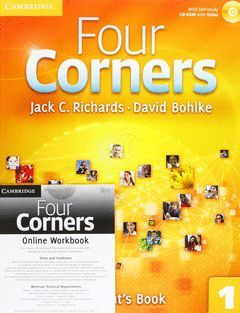 FOUR CORNERS 1. STB PACK WITH AUDIO CD AND ONLINE WB