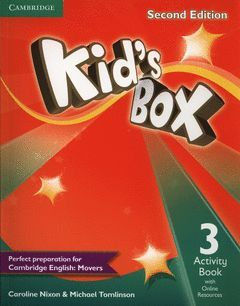 KID'S BOX LEVEL 3 ACTIVITY BOOK WITH ONLINE RESOURCES 2ND EDITION