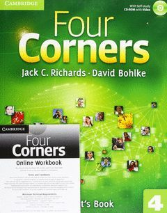 FOUR CORNERS LEVEL 4 STUDENT'S BOOK WITH SELF-STUDY CD-ROM AND ONLINE WORKBOOK P