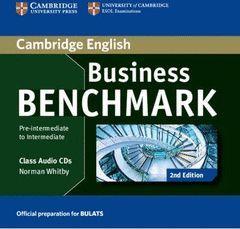 BUSINESS BENCHMARK PRE-INTERMEDIATE TO INTERMEDIATE BULATS CLASS AUDIO CDS (2) (