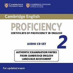 CAMBRIDGE ENGLISH: PROFICIENCY (CPE) 2 AUDIO CDS (2)