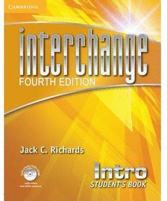 INTERCHANGE INTRO STUDENT'S BOOK WITH SELF-STUDY DVD-ROM 4TH EDITION