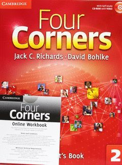 FOUR CORNERS LEVEL 2 STUDENT'S BOOK WITH SELF-STUDY CD-ROM AND ONLINE WORKBOOK P