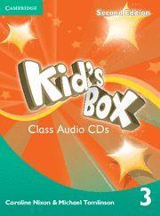 KID'S BOX LEVEL 3 CLASS AUDIO CDS (2) 2ND EDITION