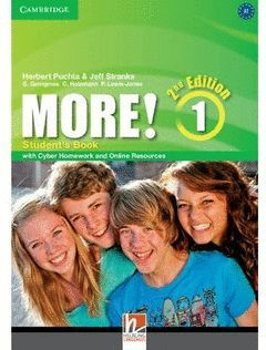 MORE! 1 (2ND ED) STUDENT'S BOOK WITH CYBER HOMEWORK AND ONLINE RESOURCES
