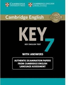 CAMBRIDGE ENGLISH: KEY (KET) 7 STUDENT'S BOOK WITH ANSWERS
