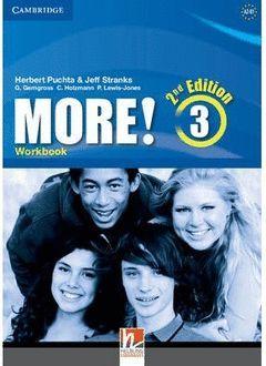 MORE! 3 (2ND ED.) WORKBOOK