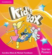 KID'S BOX STARTER POSTERS (8) 2ND EDITION