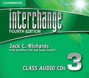 INTERCHANGE LEVEL 3 CLASS AUDIO CDS (3) 4TH EDITION