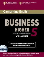 CAMB. ENG BUS HIGH 5 (SELF STUDY PACK)