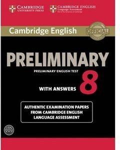 CAMBRIDGE ENGLISH: PRELIMINARY (PET) 8 STUDENT'S BOOK PACK (STUDENT'S BOOK WITH