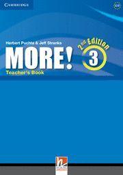 MORE! 3 (2ND ED.) TEACHER'S BOOK