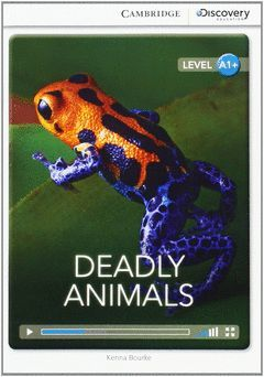 CAMBRIDGE DISCOVERY A1+ - DEADLY ANIMALS HIGH BEGINNING BOOK WITH ONLINE ACCESS