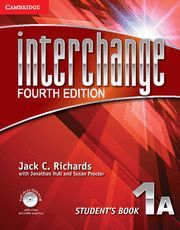 INTERCHANGE LEVEL 1 STUDENT'S BOOK A WITH SELF-STUDY DVD-ROM 4TH EDITION