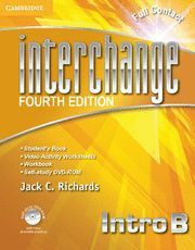 INTERCHANGE INTRO FULL CONTACT B WITH SELF-STUDY DVD-ROM 4TH EDITION