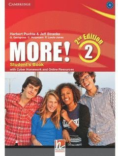 MORE! 2 (2ND ED) STUDENT'S BOOK WITH CYBER HOMEWORK AND ONLINE RESOURCES