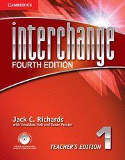 INTERCHANGE LEVEL 1 TEACHER'S EDITION WITH ASSESSMENT AUDIO CD/CD-ROM 4TH EDITIO